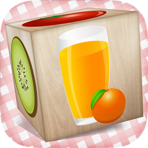 Food 3D Puzzle for Kids - best wooden blocks fun educational game for little children iOS App