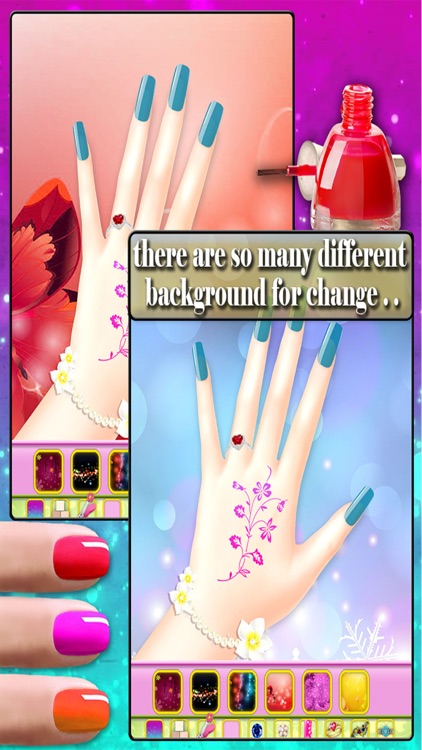 Wedding nail art salon - Nail design for girls screenshot-3