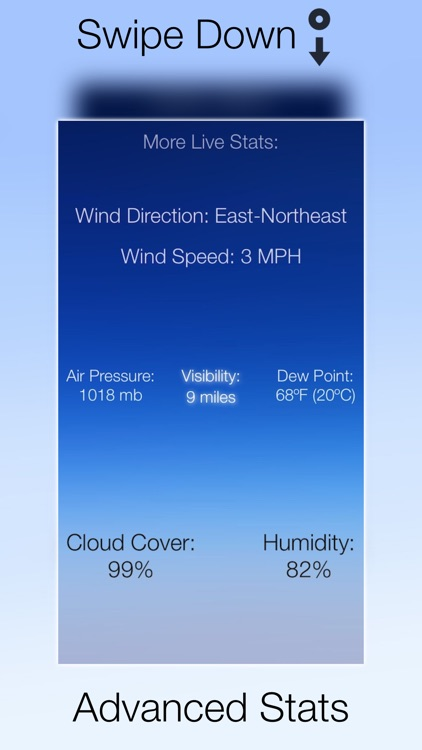 Weather Pod - Live Conditions, Forecasts and Storm Alerts screenshot-3
