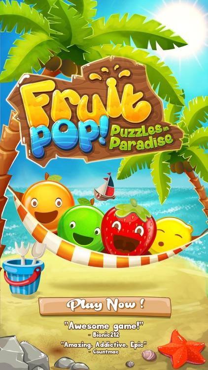 Fruit Pop! Puzzles in Paradise - Fruit Pop Sequel screenshot-4