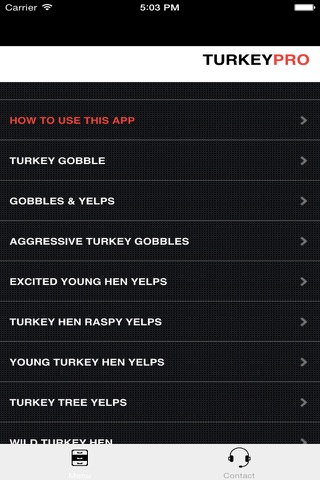 REAL Turkey Calls for Turkey Callin BLUETOOTH COMPATIBLE screenshot 1