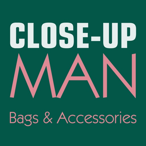 Close-Up Man Bags & Accessories