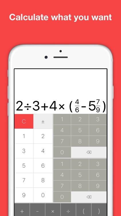 Fraction calculator - handy math assistant
