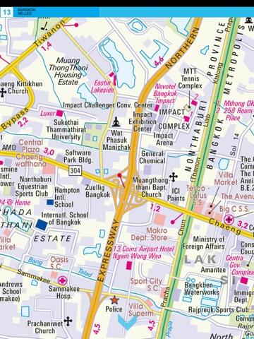 Bangkok and Greater Bangkok Tourist map App Price Drops