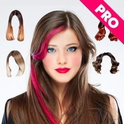 Hair Changer Photo Booth Pro - Women Hair Style Photo Effect for MSQRD Instagram