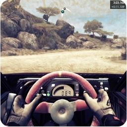 Racing Rival Traffic In Car