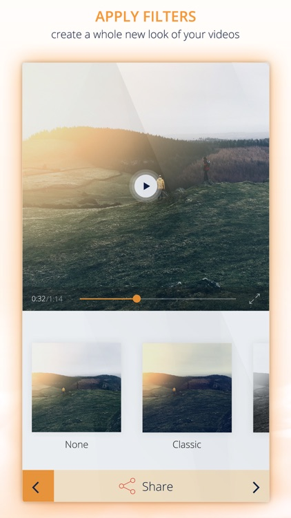 InstaVideo Editor - Trim & Add music to videos screenshot-4