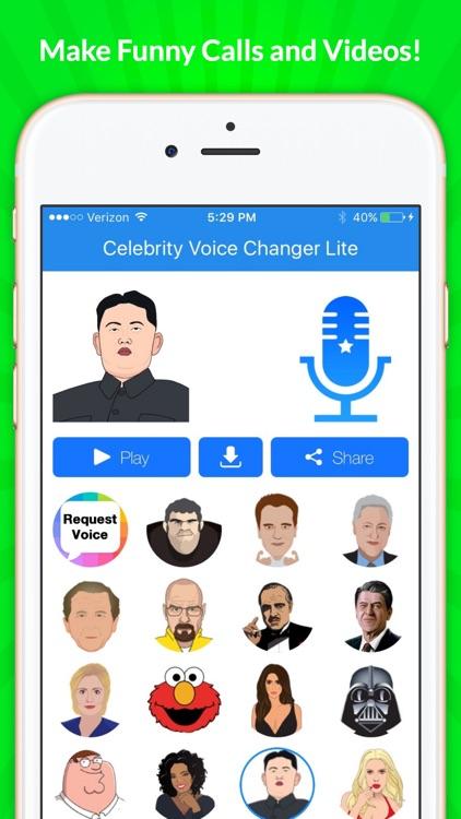 Celebrity Voice Changer - Funny Voice FX Soundboard Free screenshot-4