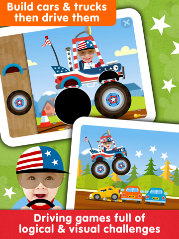 Fireman! Fire Fighter Truck Driving Games for Kids - náhled