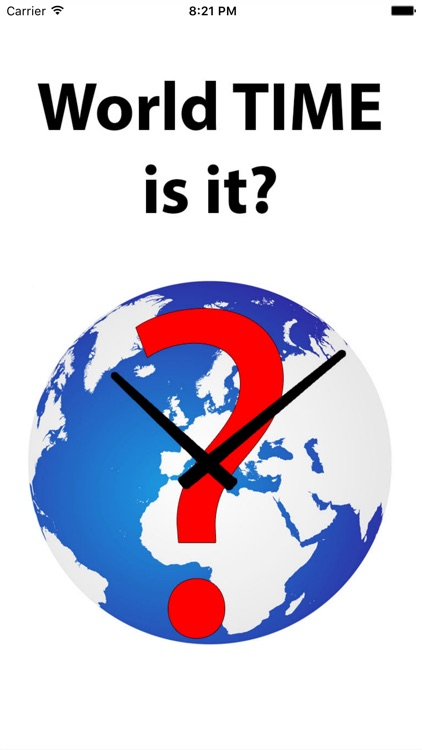 World TIME is IT?