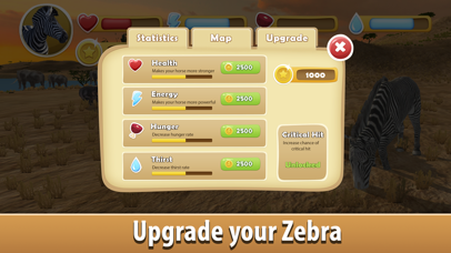Zebra Simulator 3D - African Horse Survival screenshot four