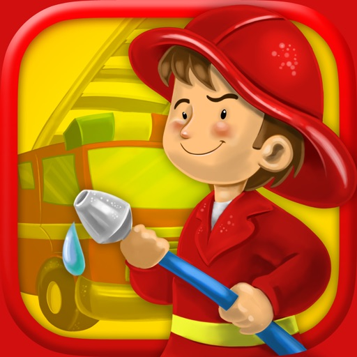 3D Fire Fighter Game For Kids
