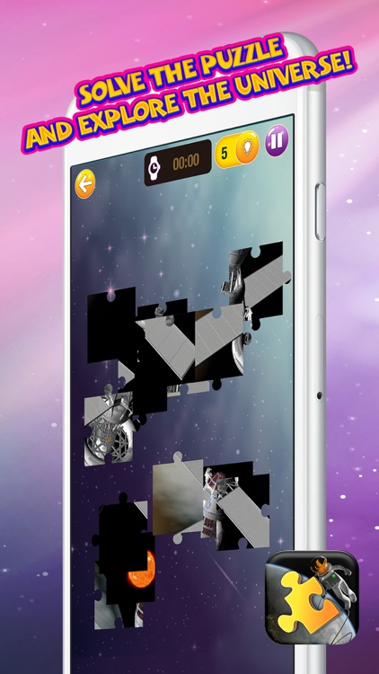 Space Jigsaw Puzzle Free – Science Game for Kids and Adults With Stars & Planets Pic.s screenshot-4