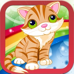 Cute Cat & Dog Coloring Book - All In 1 Animals Draw, Paint And Color Games HD For Good Kid