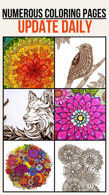 Colorfit - Adult Coloring Book - Secret Garden screenshot-0