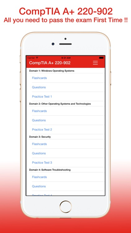 CompTIA A+ 220-902 Exam Prep Questions Flashcards Tests -- by Darril Gibson screenshot-4