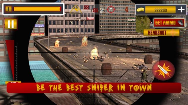 Elite Sniper City Defender Zombies Invasion screenshot-4