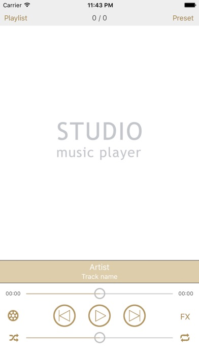 Screenshot #1 pour Studio Music Player | Égaliseur de 48 bandes