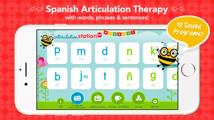 Articulation Station Pro Español  –  Articulation Therapy for Spanish screenshot-0