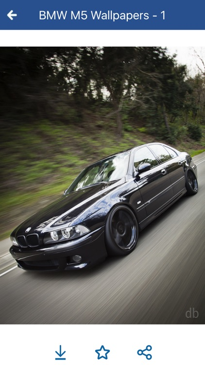 HD Car Wallpapers - BMW M5 Edition screenshot-4