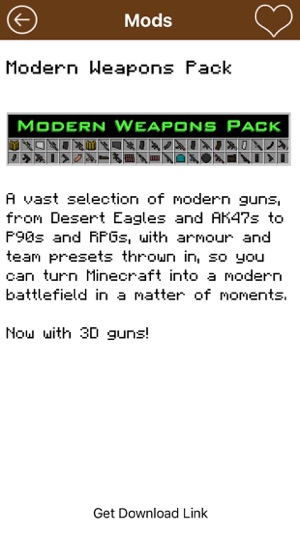 Vehicle and Weapon Mods for Minecraft PC Free on the App Store