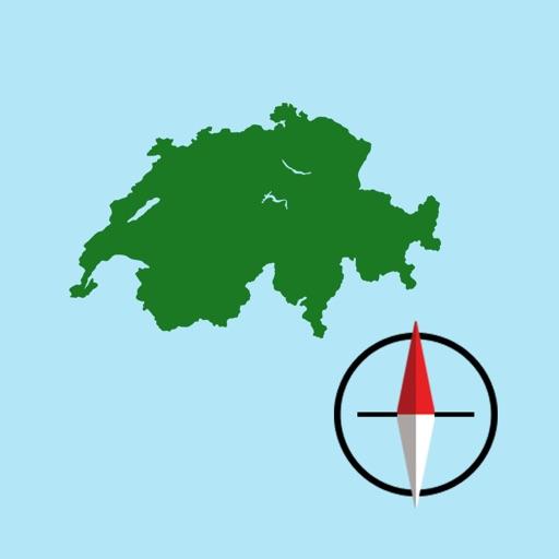 Swiss Grid Ref Compass - CH1903 coordinate system