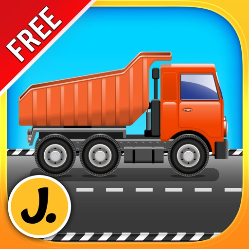 Construction and Transport Vehicles : puzzle game for little boys and preschool kids : Free
