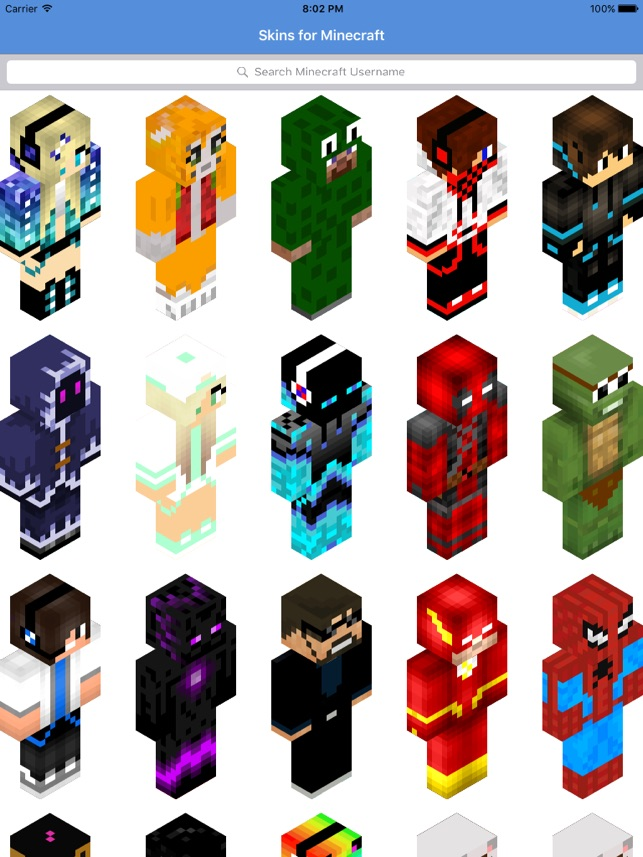 Skins For Minecraft Pe Skins On The App Store
