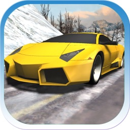 Car Racing Winter