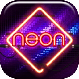 Neon Wallpaper Maker Free - Glowing Lock Screen Themes and Custom Glitter Background.s HD