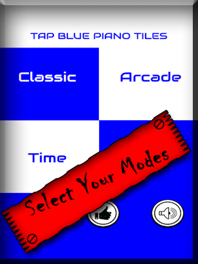 Blue Piano Tiles - Dont Tap The White Tile and free trivia games, game for IOS