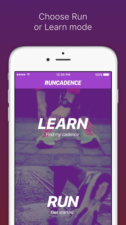 RunCadence Mobile screenshot-0