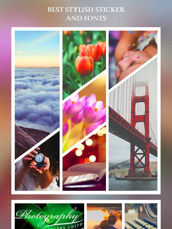 After Frame 365 Pro - Photo Collage Editor & Layout & beauty Camera &  sticker | App Price Drops