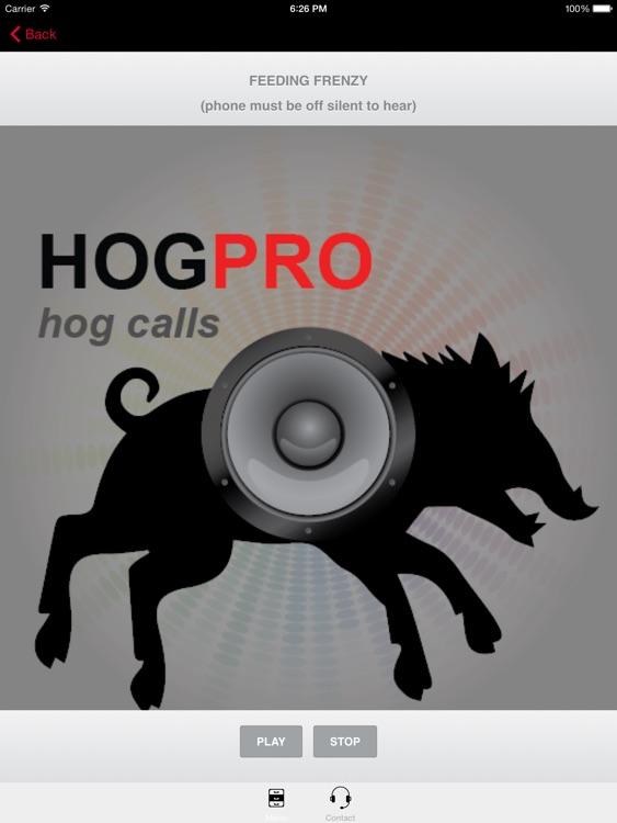 REAL Wild Hog Calls + Wild Boar Calls for Hunting - BLUETOOTH COMPATIBLE screenshot-3
