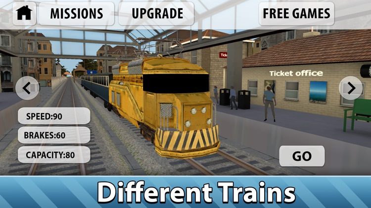 Europe Railway Train Simulator 3D Full by Game Maveriks