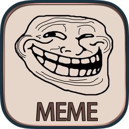 Memeee- Easy Personal Meme Maker & Meme Generator