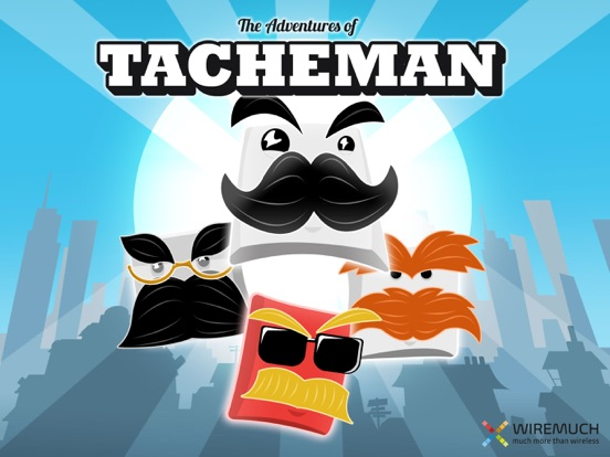 Screenshot #1 for The Adventures of Tacheman