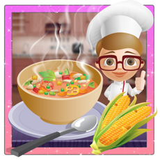 Activities of Corn Soup Maker – Bake delicious food in this cooking mania game