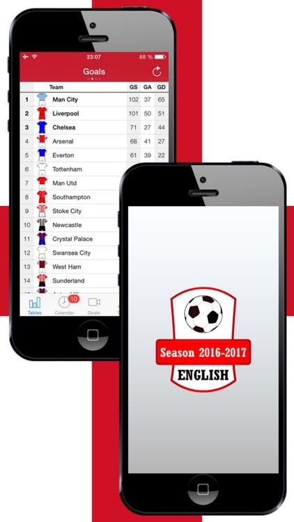English Football 2016-2017