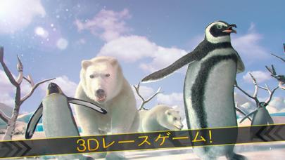 ペンギン ビレッジ レース ゲーム 無料 動物 対戦のおすすめ画像1