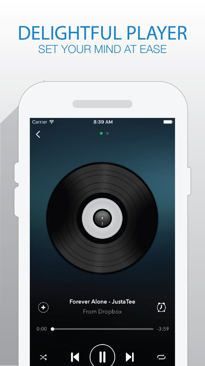 Katrina Music - Music Player For Cloud Platforms from Box Drive
