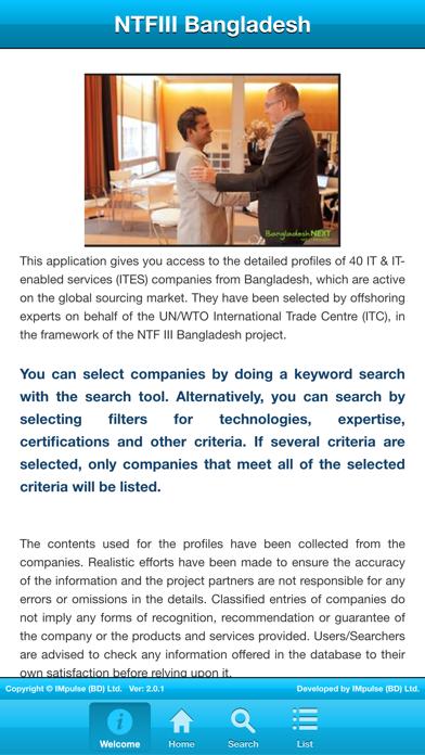 NTFIII Bangladesh Exporter Directory