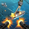 Sniper gunship helicopter shooting 3D:Free FPS battleship war airplane gun shooting games