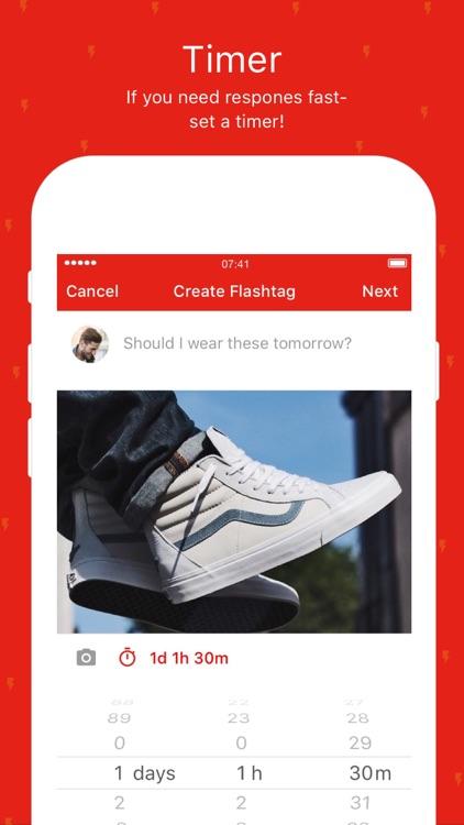 Flashtag - Get quick opinions screenshot-4