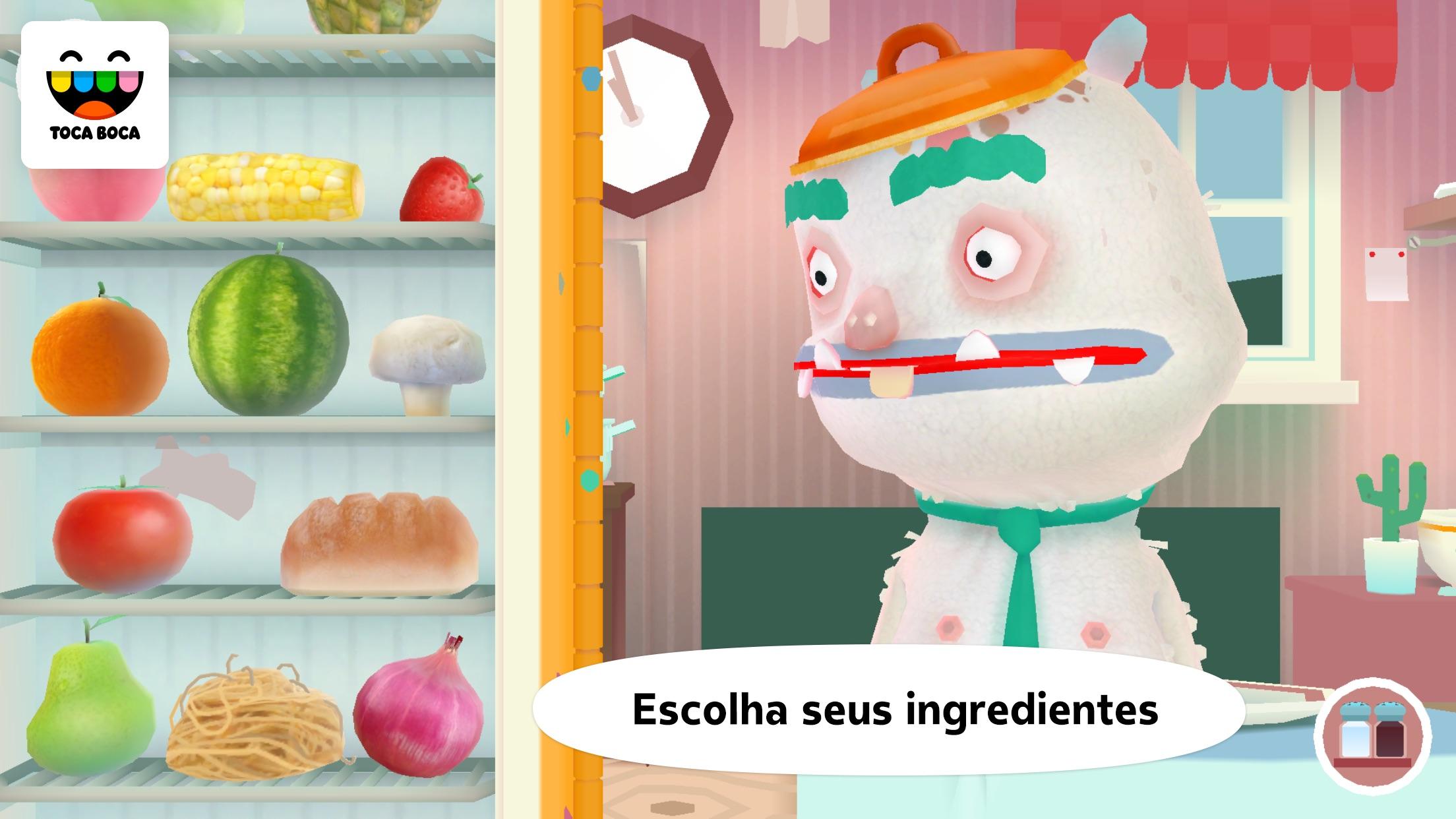 Screenshot do app Toca Kitchen 2
