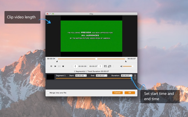 4K Converter - Der beste 4K Video Converter Screenshot