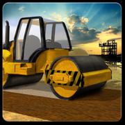 道路建筑施工城3D - 实挖掘机起重机和工程车模拟器游戏