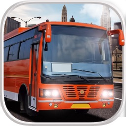 Bus Driving Simulator 3D - Pick Up & Drop Service Bus Parking Game