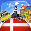 丹麦语字典 - 带有抽认卡和母语发音的免费离线短语手册