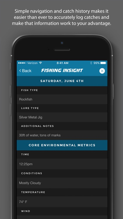 Fishing Insight - Intelligent Fishing Logbook screenshot-3